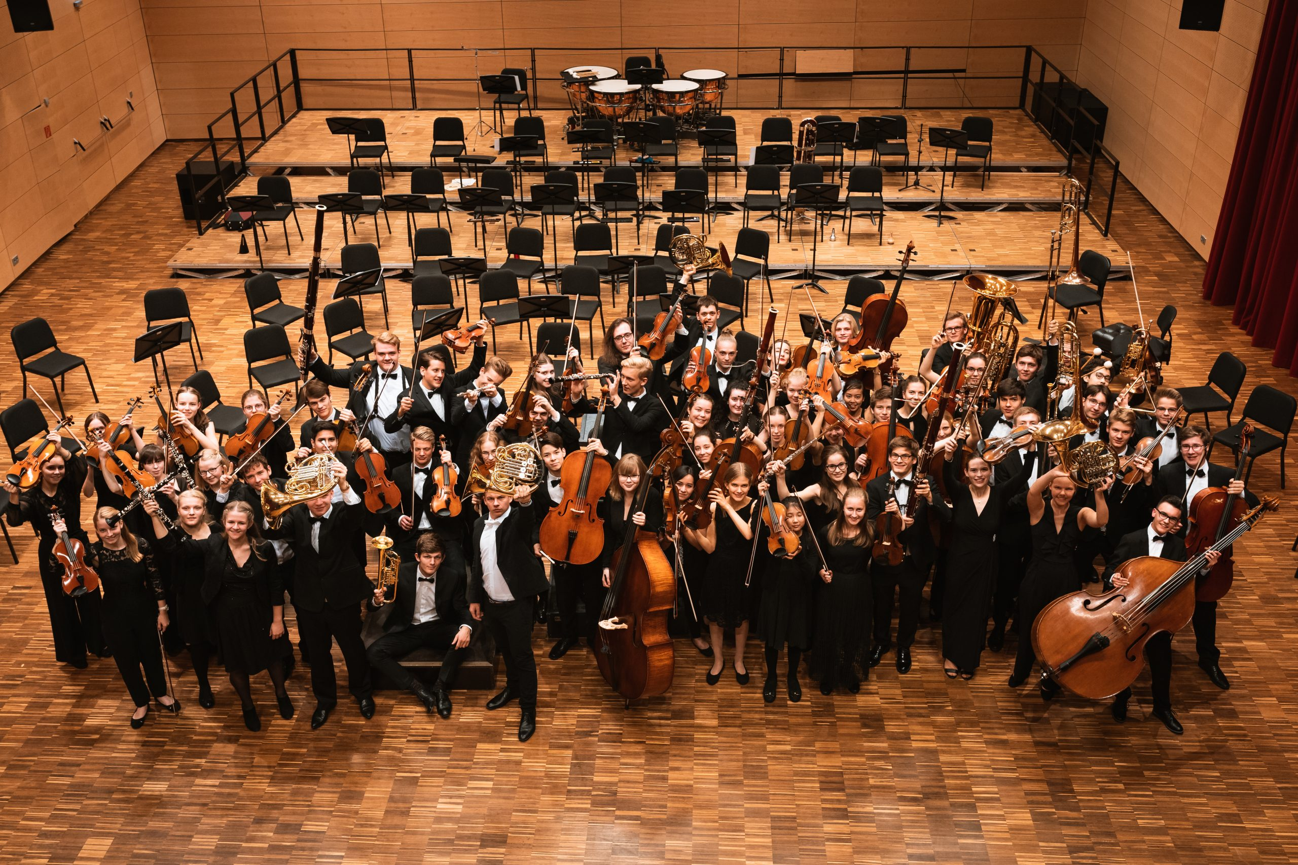 Sommer-Arbeitsphase des Niedersächsischen Jugendsinfonieorchesters