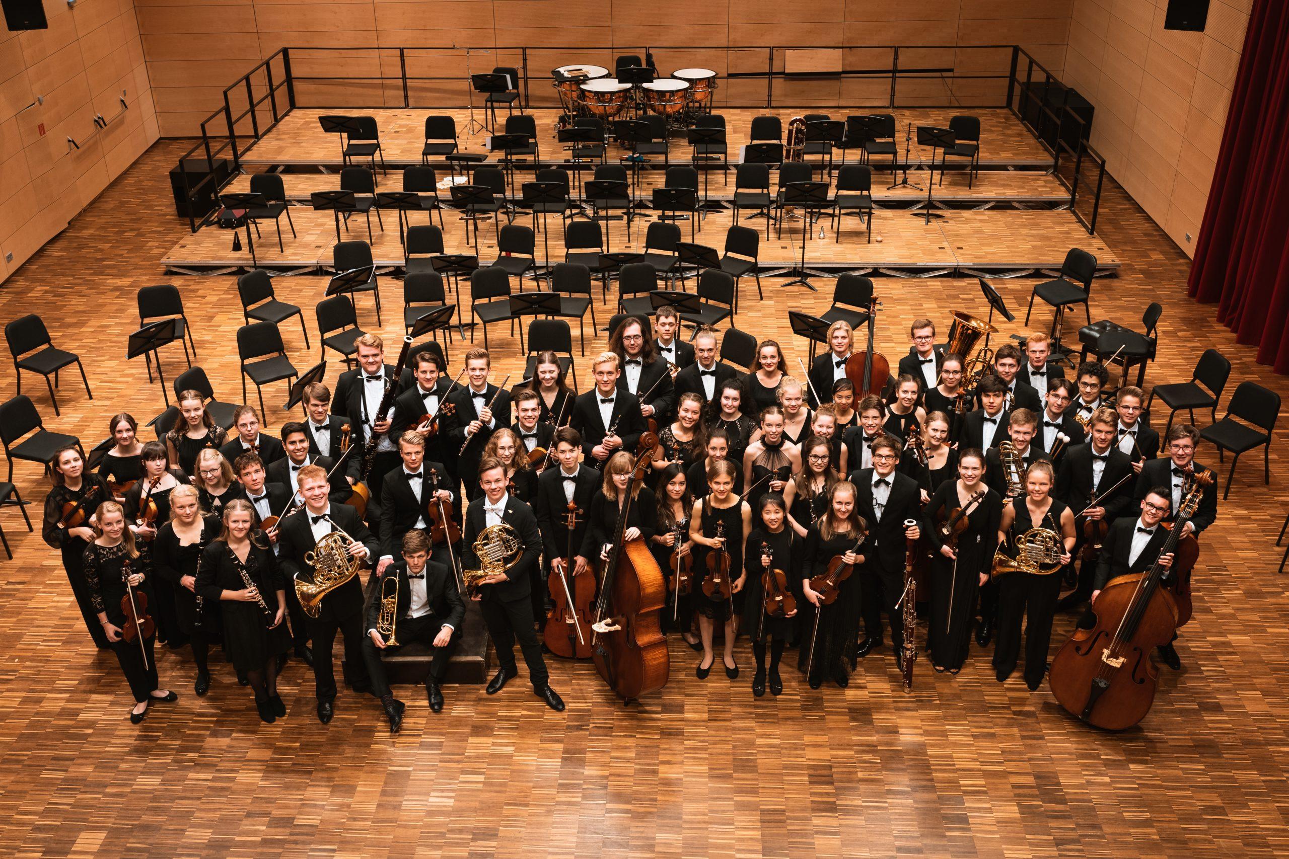 Probenphase des Niedersächsischen Jugendsinfonieorchesters